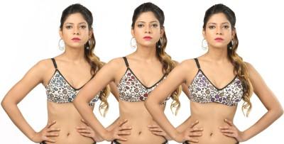 Body Liv Padded-Garima Women's Full Coverage Multicolor Bra