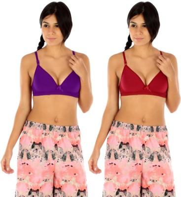 Body Liv by Benicia Women's Plunge Multicolor Bra