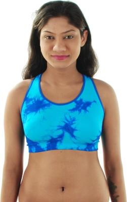 Gwyn Women's Sports Blue Bra