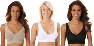 Phalin Fashion Women's Sports Multicolor Bra