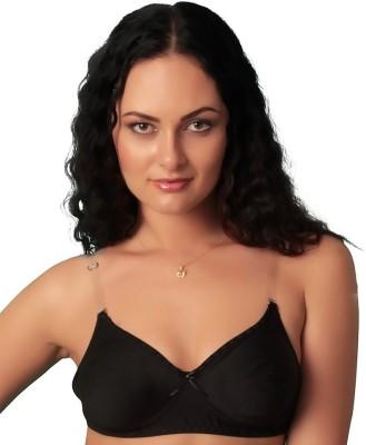 Vishwakarma Choice Women's Plunge Black Bra