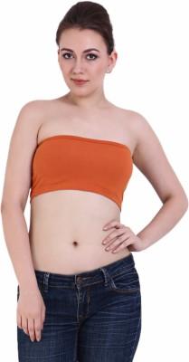 Rattrap Fashion Women's Tube Orange Bra