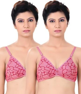 S4S Stylish Women's Push-up Red Bra