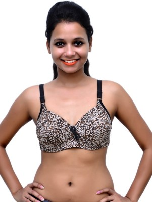 Wolfie LeoBeige107 Women's Push-up Multicolor Bra