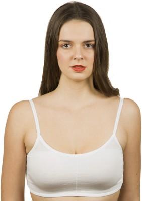 The Bling Stores Six Strap Cage Back White Crop Top Girl's, Women's Bralette White Bra at flipkart