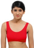 La Verite Pro Women's Sports Red Bra