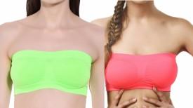 Q-Rious Women's Tube Multicolor Bra