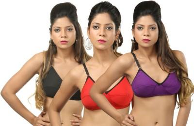Body Liv Padded Women's Full Coverage Multicolor Bra