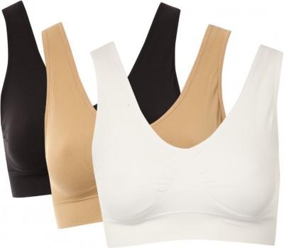Being Trendy Slim N Lift Aire Bra Seamless Women's Sports Beige Bra