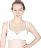 Vloria by Vloria Women's Push-up White B...