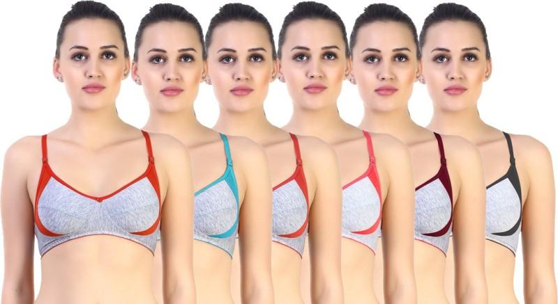 SK Dreams by SK Dreams Women's Full Coverage Multicolor Bra
