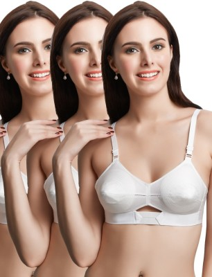 Libertina Duchess U Back Non Wired Women's Full Coverage White Bra at flipkart