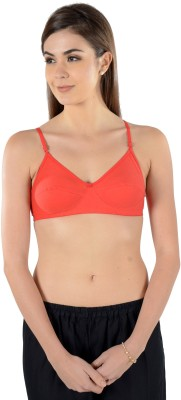 Leading Lady Red Women's Full Coverage Red Bra