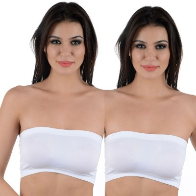 AayanBaby Tube Bra Women's Tube White Bra
