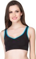 Clovia Non Wired Bra In Turquoise Women's Full Coverage Blue Bra