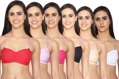 riya touch Women's Full Coverage Multicolor Bra