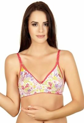 Alies Women's T-Shirt Pink Bra