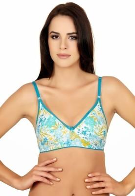Alies Women's T-Shirt Blue Bra