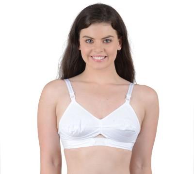 APS Best Choice Women's Full Coverage White Bra