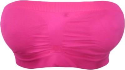 DCS Women's Tube Pink Bra
