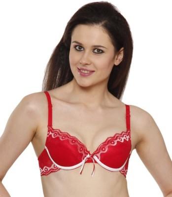 Kunchals single padded underwear bra Women's Full Coverage Red Bra