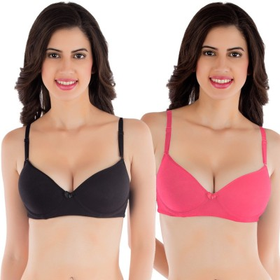 Tweens by Belle Lingeries - Push-Up Underwire Women's Push-up Black Bra