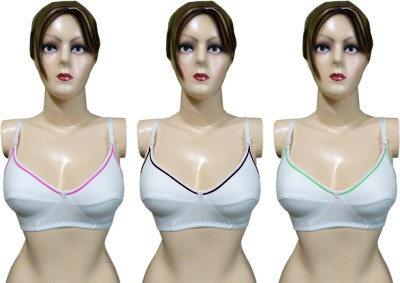 Body Liv by Benicia - SPLASH-3 Women's Full Coverage White Bra
