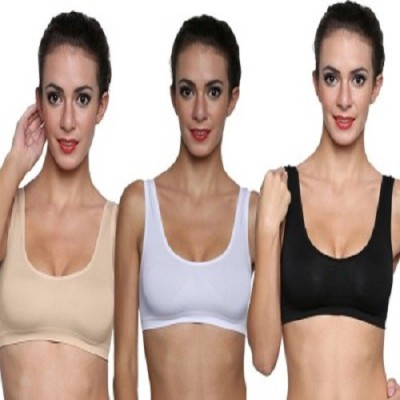 Tvc by TVC - Air Bra Women's Full Coverage Black, White, Beige Bra at flipkart