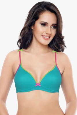 Coucou by Zivame by Zivame - Pro Women's T-Shirt Blue Bra