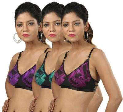 Body Liv MICRA-3 Women's Full Coverage Multicolor Bra