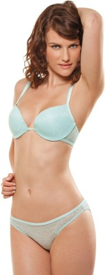 Bwitch Women's Push-up Blue Bra