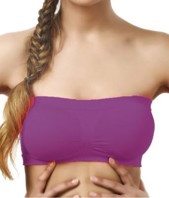 SEK Classic Luxe Women's Tube Purple Bra