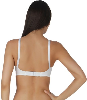 Don,t Shy Women,s Full Coverage White Bra