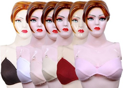 Versa Women's Balconette Pink, Maroon, Beige, White, Black, Yellow Bra
