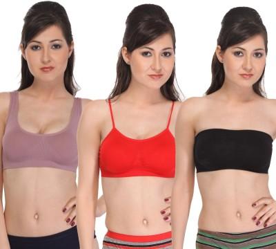 Scarlett by Scarlett - Fashion Women's Sports Multicolor Bra
