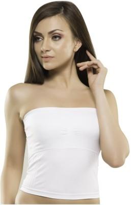 Kunchals Single Women's Padded Tube Top (K66-1579-White-Free) Women's Tube White Bra