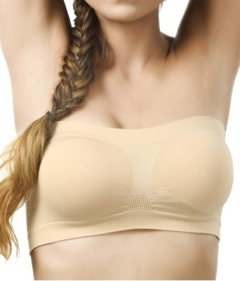 SEK Classic Luxe Women's Tube Beige Bra
