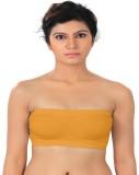 Sizzlacious Women's Tube Yellow Bra