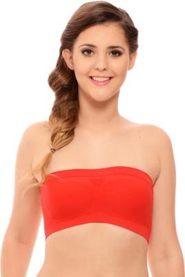 Katys Women's Women's Tube Red Bra