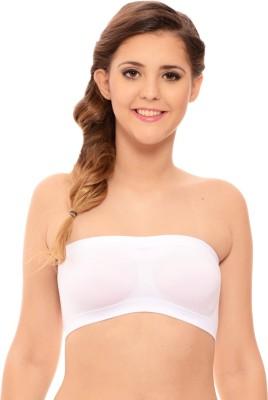 Katys Women's Women's Tube White Bra