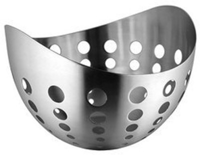 Dynore Stainless Steel Bread Basket(Steel)