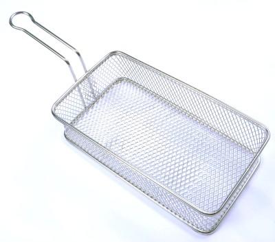 Caanistro Steel Bread Basket(Silver)