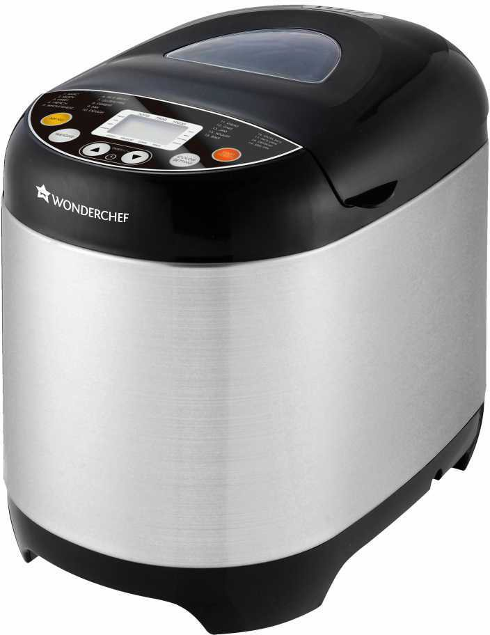Wonderchef Regalia - Steel 63152199 Bread Maker(Silver)