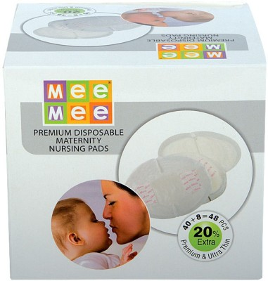 MeeMee Premium Disposable Maternity Nursing Pads(48 Pieces)