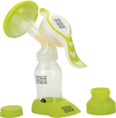 Mee Mee Expert Manual Breast Pump With Rotary Handle - Manual(Green)