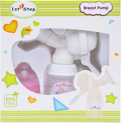 1st Step Breast Pump - Manual(Pink)
