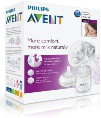 Philips Avent Natural Comfort Manual Breast Pump BPA Free Brand New  - Manual(Clear)