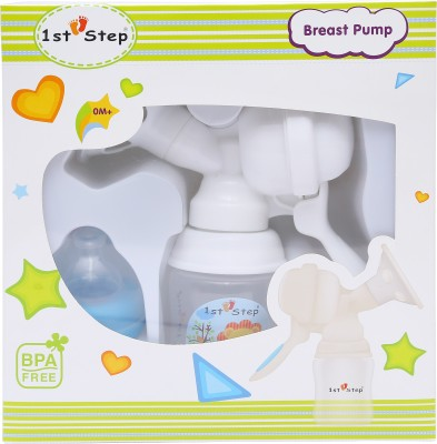 1st Step Breast Pump - Manual(Blue)