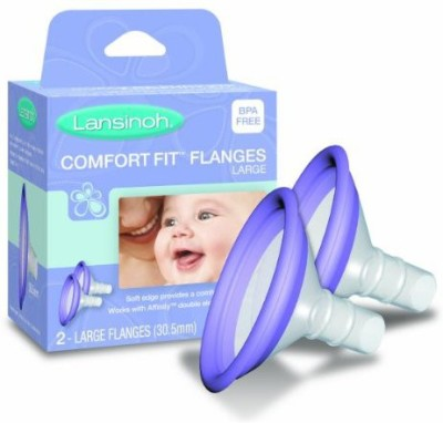 Lansinoh Comfortfit Flanges(Purple)