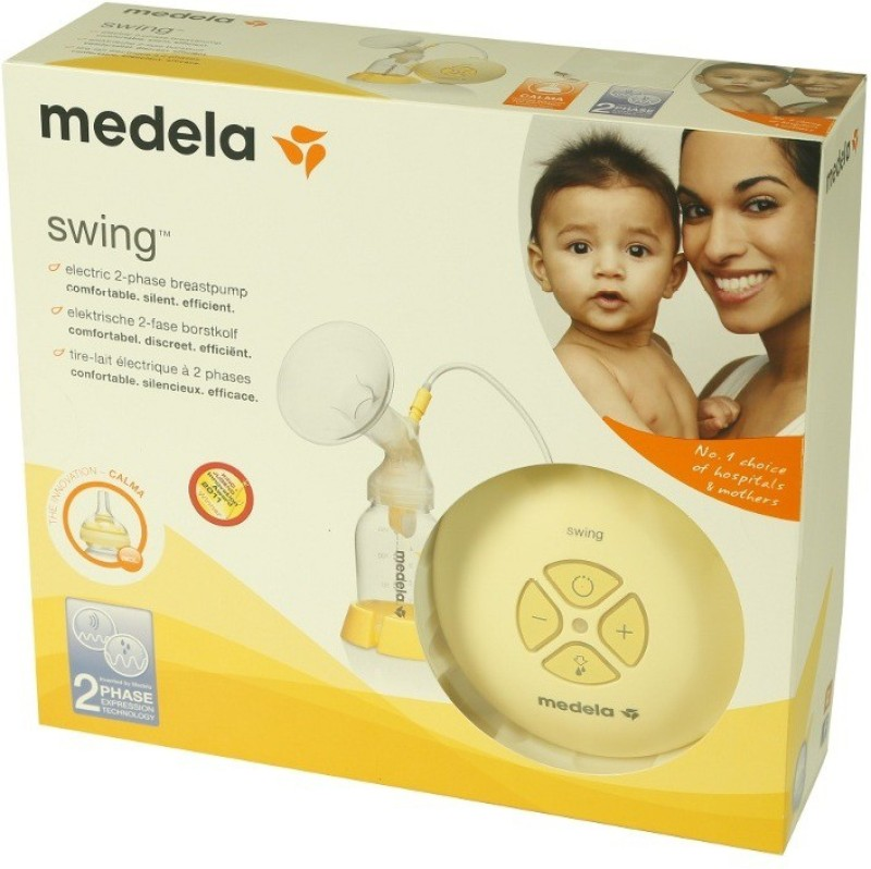 Medela Swing  - Electric(White, Yellow)
